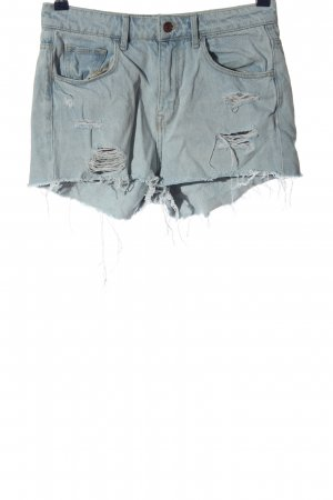 & DENIM Spijkershort blauw casual uitstraling