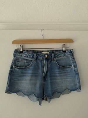 H&M High-Waist-Shorts blue