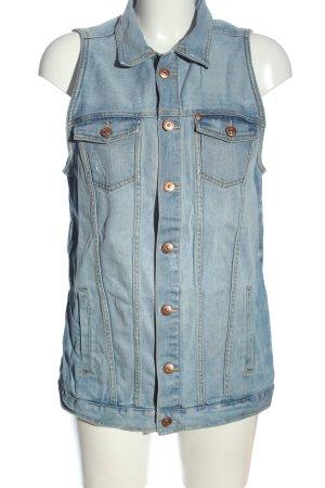 & DENIM Smanicato jeans blu stile casual
