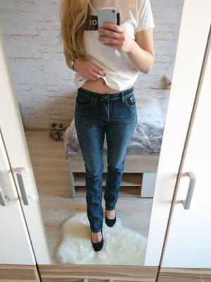 Jenny Jeans bleu foncé coton