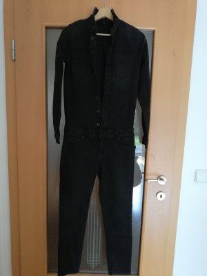 Stretch jeans zwart-antraciet