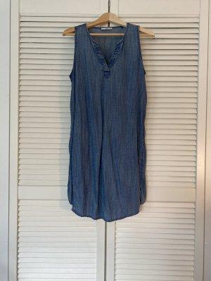 Edc Esprit Vestido línea A azul