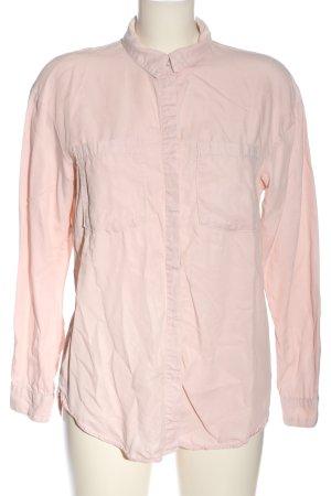 & DENIM Camicia a maniche lunghe rosa stile professionale