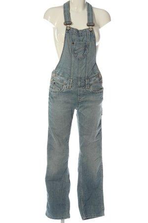 & DENIM Jeans met bovenstuk blauw casual uitstraling