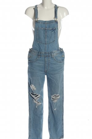 & DENIM Latzjeans blau Casual-Look