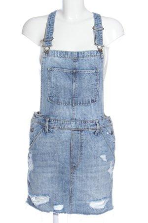 & DENIM Salopette-jupe bleu style décontracté