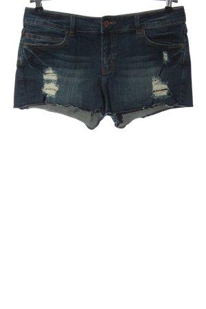 Denim life by pimkie Short en jean bleu style décontracté