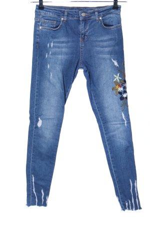 Jeans skinny bleu style décontracté