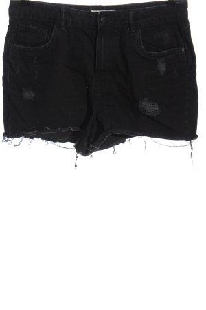 Denim Pimkie Short en jean noir style décontracté