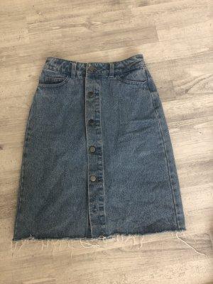 Nakd Denim Skirt multicolored