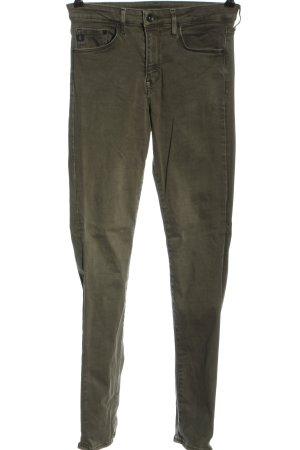 & DENIM Skinny Jeans khaki casual look