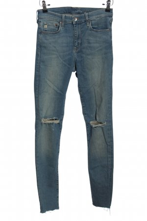 & DENIM Röhrenjeans blau Casual-Look