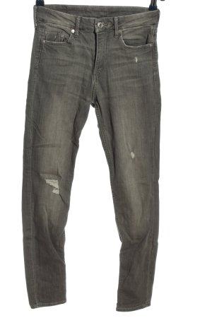 & DENIM Tube Jeans black casual look
