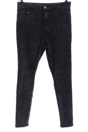 & DENIM Jeansy rurki czarny W stylu casual