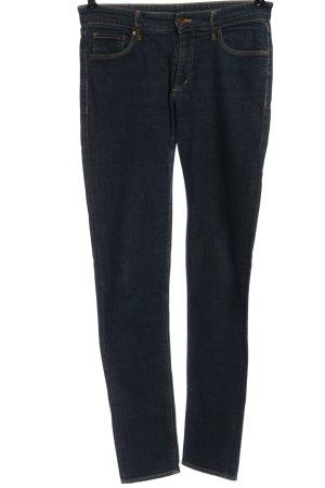 & DENIM Tube jeans blauw casual uitstraling