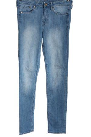 & DENIM Röhrenjeans blau Casual-Look