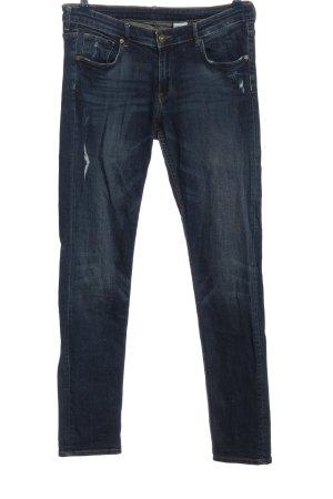 & DENIM Jeans cigarette bleu style décontracté