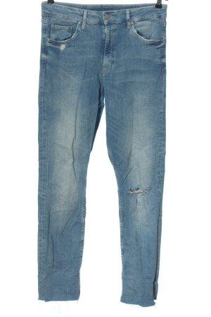 & DENIM Tube Jeans blue casual look