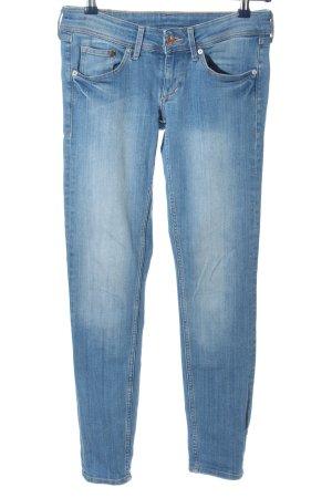 & DENIM Jeansy rurki niebieski W stylu casual