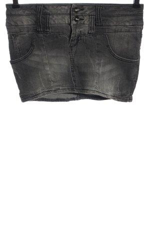 denim rules by trf Denim Skirt light grey casual look