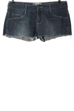 denim rules by trf Denim Shorts blue street-fashion look