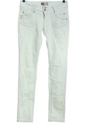 denim rules by trf Jeans cigarette blanc style décontracté