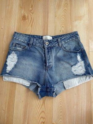 Mango Premium Shorts blu-azzurro