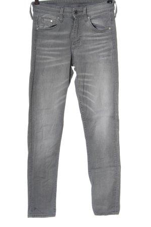 & DENIM Skinny Jeans light grey casual look