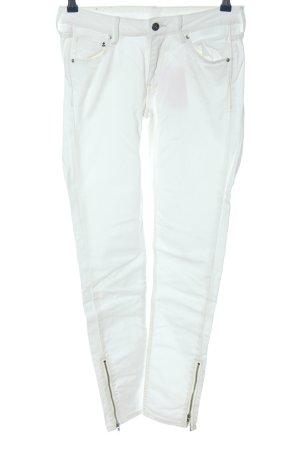 & DENIM Skinny Jeans weiß Casual-Look