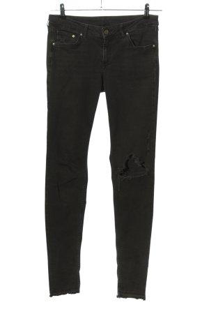 & DENIM Skinny Jeans black casual look