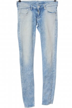 & DENIM Skinny jeans blauw casual uitstraling