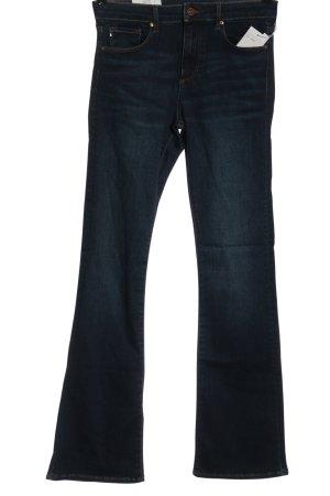 & DENIM Jeans bootcut bleu style décontracté