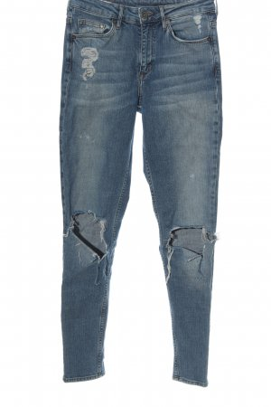 & DENIM Jeans skinny blu stile casual
