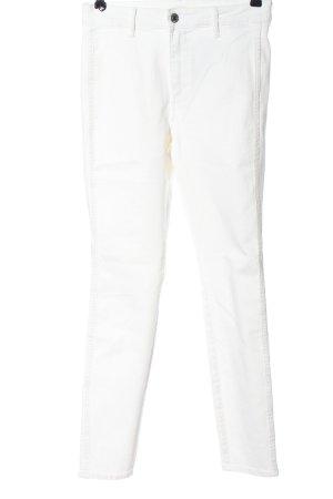 & DENIM Skinny jeans wit casual uitstraling