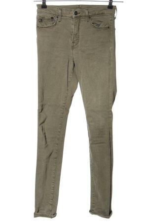 & DENIM Vaquero skinny gris claro look casual