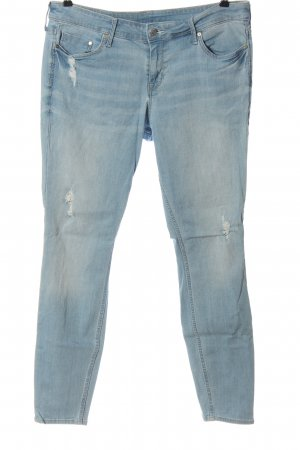 & DENIM Jeansy o obcisłym kroju niebieski W stylu casual