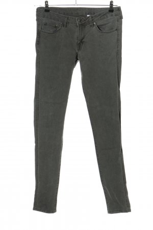 & DENIM Skinny Jeans hellgrau Casual-Look