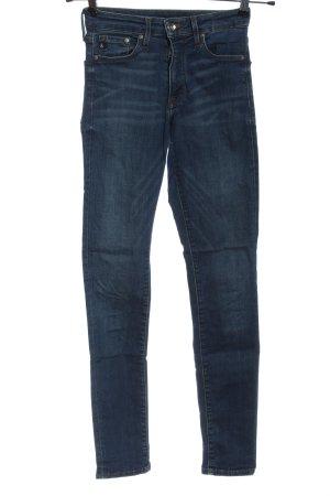 & DENIM Dopasowane jeansy niebieski W stylu casual