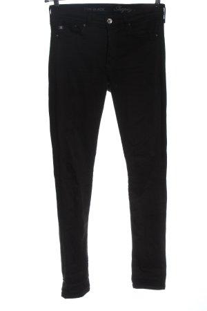 & DENIM Dopasowane jeansy czarny W stylu casual