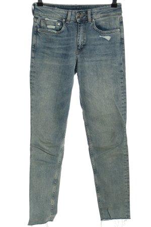 & DENIM Slim Jeans blau Casual-Look