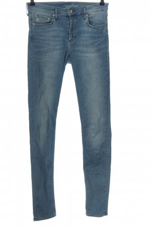 & DENIM Jeans slim fit blu stile casual