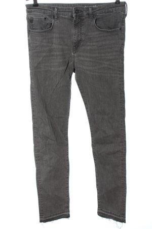 & DENIM Slim jeans lichtgrijs casual uitstraling