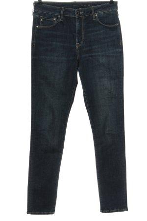 & DENIM Dopasowane jeansy niebieski