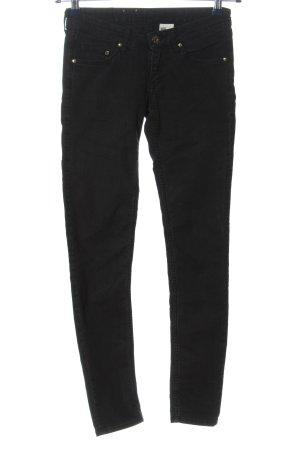 & DENIM Jeans slim fit nero Tessuto misto