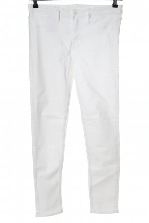 & DENIM Jeans slim fit bianco stile casual