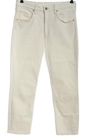 & DENIM Straight-Leg Jeans wollweiß Casual-Look