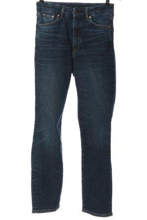 & DENIM Jeansy z prostymi nogawkami niebieski W stylu casual