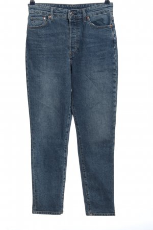 & DENIM Straight-Leg Jeans