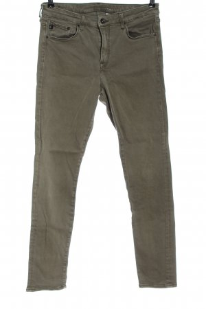 & DENIM Jeans skinny kaki style décontracté