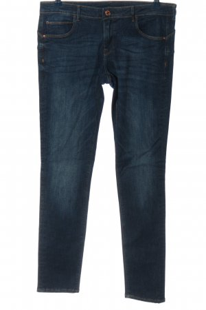 & DENIM Jeans met rechte pijpen blauw casual uitstraling